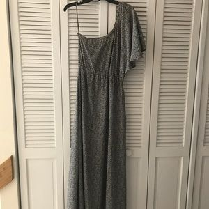 Bar III One Shoulder Maxi Dress